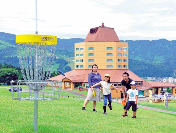 舞子高原ホテルでディスクゴルフ!