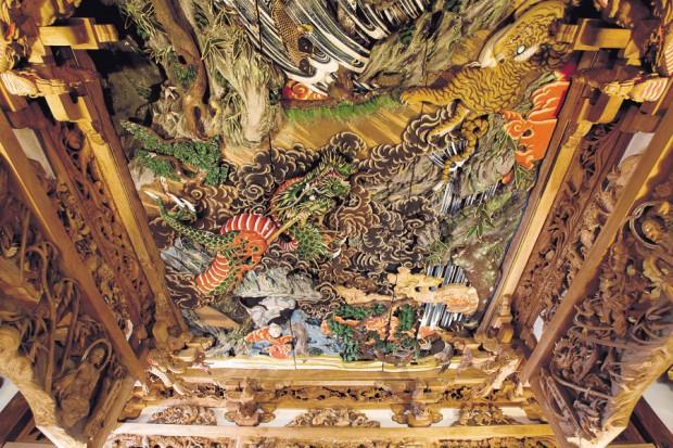 西福寺で歴史的なアートにも触れて