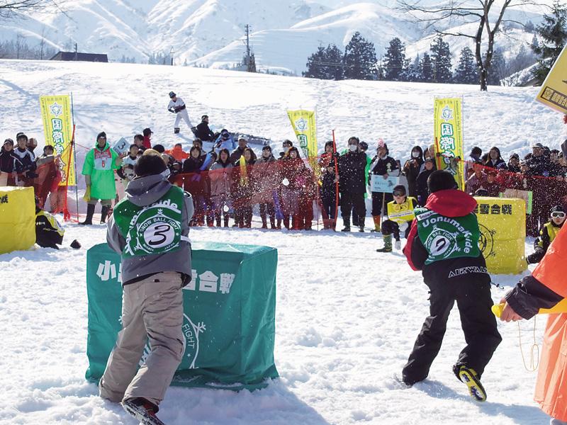 小出国際雪合戦