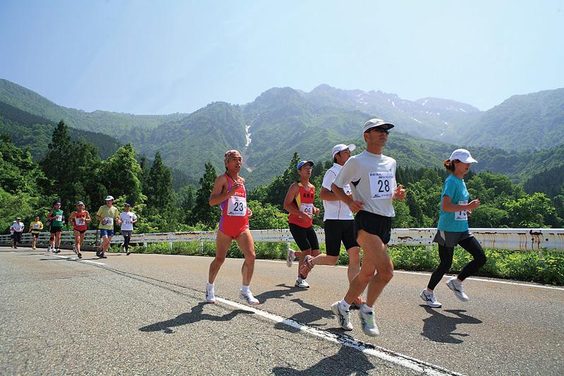 八海山登山マラソン&新緑ウォーキング大会