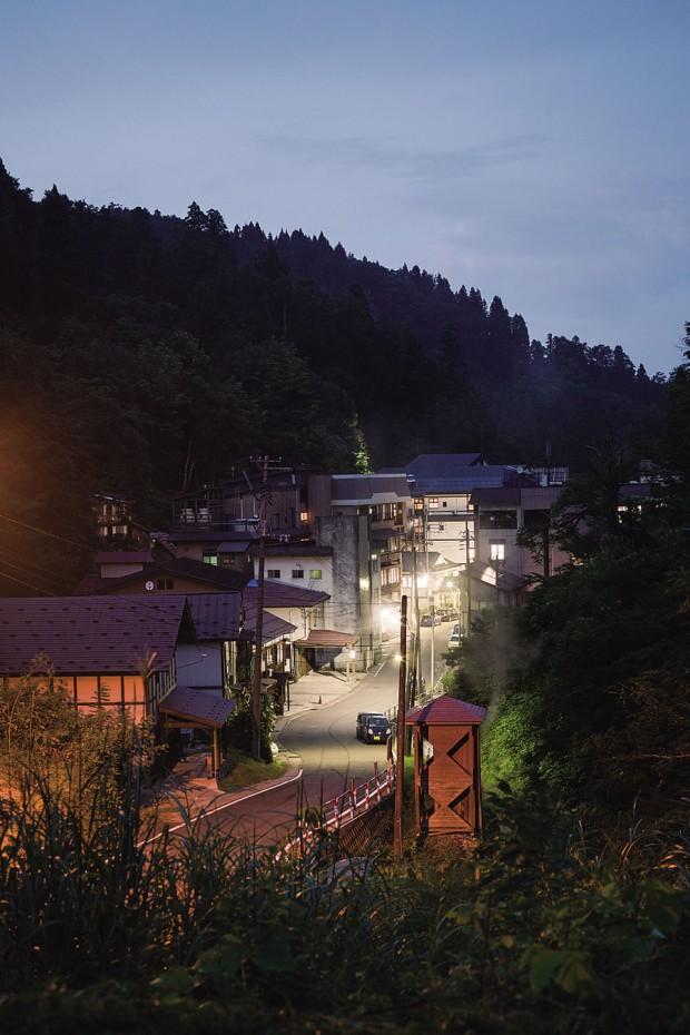 松之山温泉郷でのんびりと