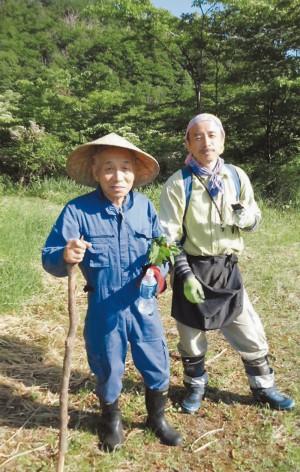 【ホテルアルパイン】横田 英隆さん(右)