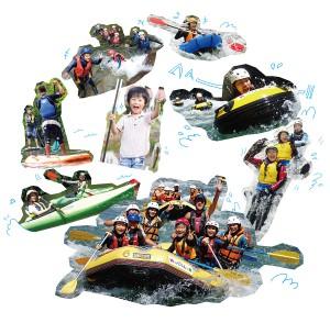 雪国観光圏の水で遊ぶアクティビティ