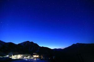 谷川岳ロープウェイ・夜の特別運行 天空のナイトクルージング